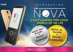 ntel launches NOVA 4G/LTE dual-SIM phone