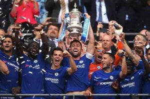 Hazard Penalty Gives Chelsea FA Cup Final Victory Over Man Utd