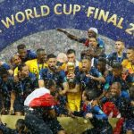 France Lift FIFA World Cup 2018