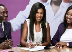 RevolutionPlus Signs Star Actress, Omoni Oboli as brand ambassador