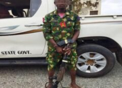 Fake military officer arrested with AK-47 in Nasarawa